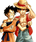 6388 render Luffy et Goku