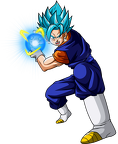 vegetto ssj blue bing bang kame hame hame ah power by jaredsongohan-dany667