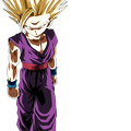 super saiyan gohan  youth  by brusselthesaiyan-dca1fs0