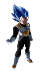 determined to evolve  vegeta ssj blue  dbh  by koku78-dcapwir