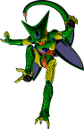 Render Dragon Ball Z cell imperfect