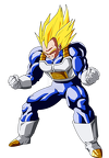 vegeta ssj2 color