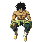 broly  broly movie  render 3  dokkan battle  by maxiuchiha22 ddrxd59